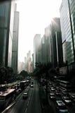 hong kong street Fotografia Royalty Free