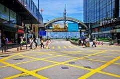 Hong Kong street Royalty Free Stock Image