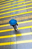 In a Hong Kong street