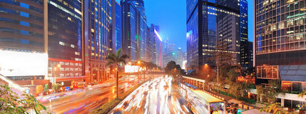 Hong Kong street view Royalty Free Stock Photos