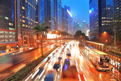 Hong Kong street view Royalty Free Stock Photo