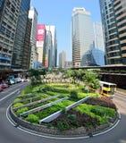 Hong Kong Street View arkivfoton