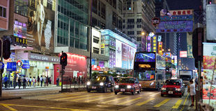 Hong Kong Street Royalty Free Stock Photo