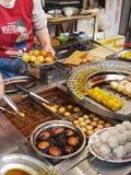 Hong Kong Streetfood royalty-vrije stock afbeelding