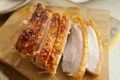 Hong Kong-style roast pork Royalty Free Stock Photos