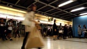 Hong Kong Subway train station platform