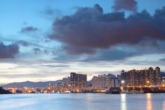 Hong kong sunset Stock Image