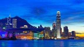 Hong kong sunset Stock Photos