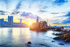 Hong Kong Sunset Stock Images