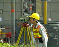 Hong Kong Surveyor Images stock