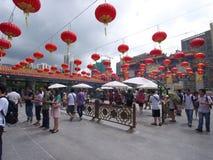 Hong Kong syndar tai-tempelwong Royaltyfri Bild