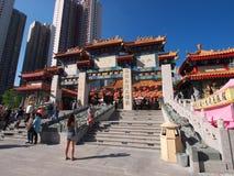 Hong Kong syndar tai-tempelwong Royaltyfri Fotografi