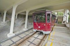 Hong Kong Szczytowy tramwaj obrazy stock