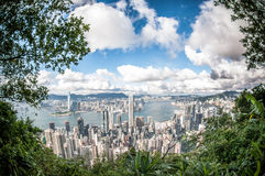 Hong Kong am Tag Lizenzfreies Stockbild