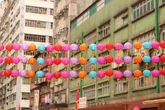 Hong Kong, Tai Kok Tsui, templo 2015 justo Fotografía de archivo