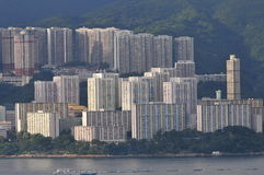 Hong Kong Tall Building Royalty Free Stock Photo