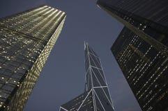 Hong Kong Tall Buildings and Skyscrapers Stock Photos