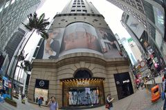 Hong Kong Tall-de bouw Royalty-vrije Stock Foto