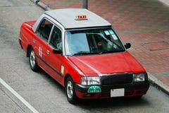 Hong Kong Taxi Stock Image