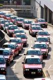 Hong Kong Taxi Stock Photos