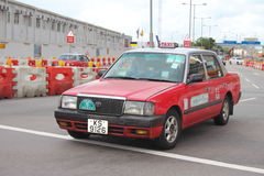 Hong Kong Taxi Image stock