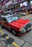 Hong Kong Taxi Royalty Free Stock Images
