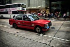 Hong Kong Taxi Royalty Free Stock Photo