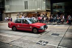 Hong Kong Taxi Royalty Free Stock Photos