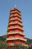Hong Kong tempel Arkivbilder