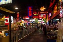 Hong Kong Theme Shopping Alley Stock Photo