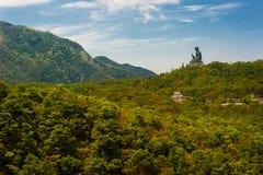 Hong Kong Tian Tan Buddha fotos de stock