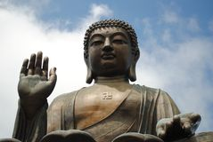 Hong Kong Tian Tan Buddha Stock Photography