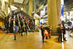 Hong Kong Time Square main entrance Stock Photography