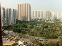 Hong Kong Tin Shui Wai-Stad Stock Afbeeldingen