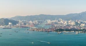 Hong Kong Top View Royalty Free Stock Photos