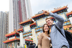 Hong Kong tourist attraction Wong Tai Sin Temple Stock Photography