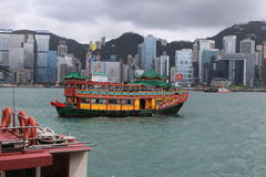 Hong Kong Tourist Tour Royaltyfri Bild