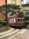 Hong Kong Tourist Tramway Stockbild