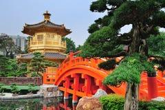 Hong Kong trädgård Royaltyfria Bilder