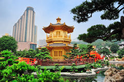 Hong Kong trädgård Royaltyfria Foton