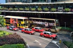 Hong Kong Traffic Fotografia de Stock