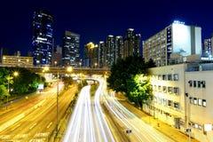 Hong kong traffic Royalty Free Stock Images