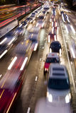 Hong kong traffic jam Stock Photography