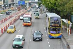Hong Kong traffic Stock Image