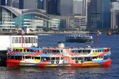 Hong Kong: Traghetto della stella Immagini Stock Libere da Diritti