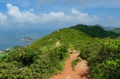 Hong Kong trail beautiful views and nature Royalty Free Stock Photos