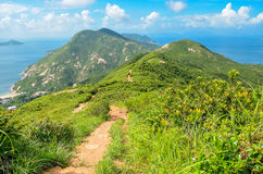 Hong Kong trail beautiful views and nature Stock Image
