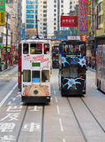 Hong Kong Tram Royalty Free Stock Photos