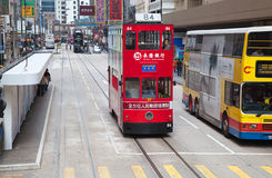 Hong Kong Tram stock photography