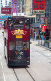Hong Kong Tram Royalty Free Stock Image